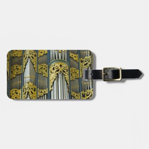 Luggage tag for organists- Breda