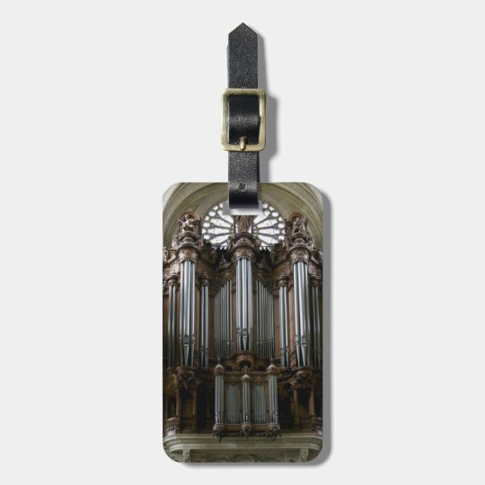 Luggage tag for organists - St Eustache