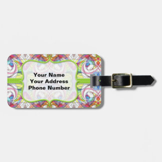 Luggage Tag  indian style