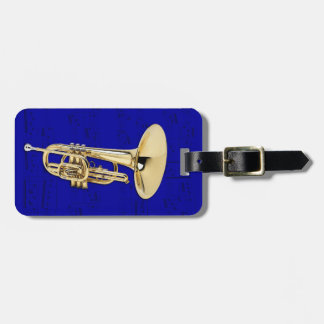 Luggage Tag - Mellophone - Choose color
