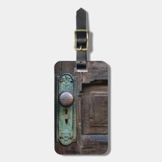 "Luggage Tag - ""Old Door Knob"" by Joanne Coyle"