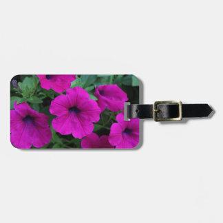 Luggage Tag - Pink Petunias