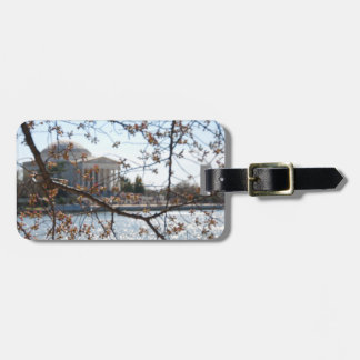 Luggage Tag - The Jefferson Memorial during Spring