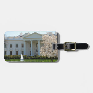 Luggage Tag - The White House during Spring