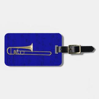 Luggage Tag - Trombone (alto) - Choose color