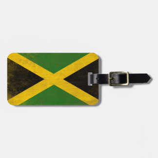 Luggage Tag with Dirty Flag from Jamaica