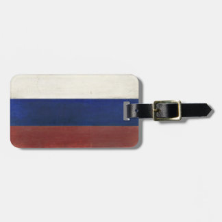Luggage Tag with Dirty Flag from Russia
