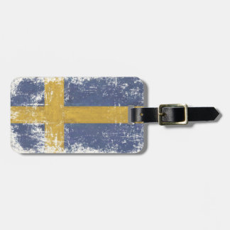 Luggage Tag with Extra Dirty Flag fromSweden
