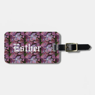 Luggage tag with yam
