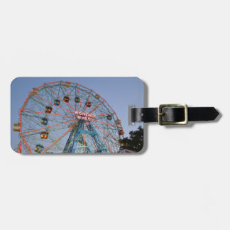 Luggage Tag: Wonder Wheel at Coney Island Bag Tag