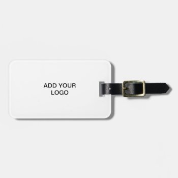 Luggage Tags-- Add You Logo Luggage Tag by CREATIVEforBUSINESS at Zazzle