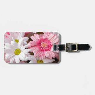 Luggage Tags - Daisy Gerbera Flowers