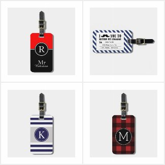 Luggage Tags for Him