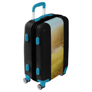 Luggage Vertical Fill Template