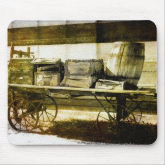 Luggage Wagon Mouse Pad