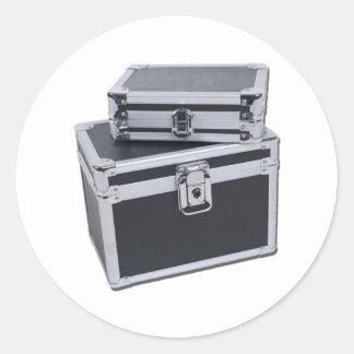 LuggageCaseReinforced011011 Classic Round Sticker