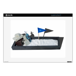 "LuggageGolfClubsSandPit011815.png Decals For 15"" Laptops"