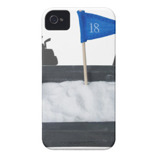LuggageGolfClubsSandPit011815.png iPhone 4 Case