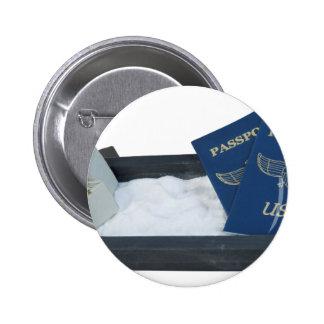 LuggageOnSandwithPassports011815.png Pinback Button