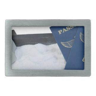 LuggageOnSandwithPassports011815.png Rectangular Belt Buckle