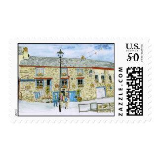 'Lugger Inn (Polruan)' Postage