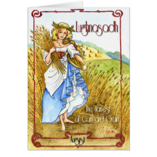 Lughnasadh Greeting Card
