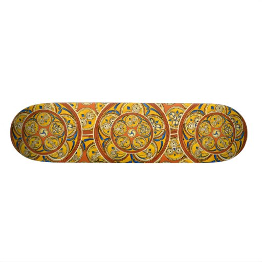 Lughnasadh Spiral Celtic Skateboards