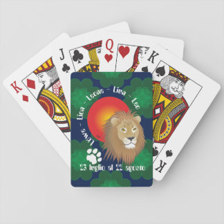 Luglio agosto di Leone 23 al 22 Giochi carte Barajas De Cartas