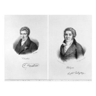 Luigi Cherubini y Nicolás Marie Dalayrac Postales