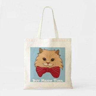 Luigi el gato del león me compra bolso del atún bolsa tela barata