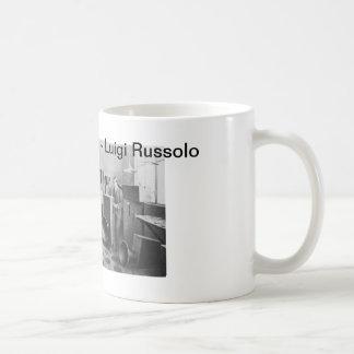 Luigi Russolo - The Art of Noise Classic White Coffee Mug