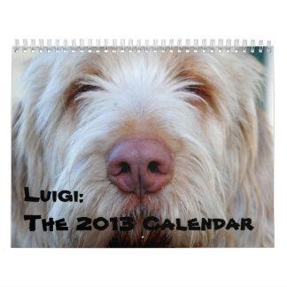 Luigi:  The 2013 Calendar