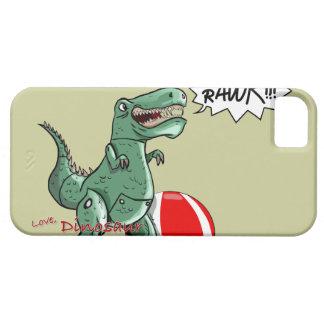 Luis Julián Torruellas著恐竜またはドラゴンの芸術 iPhone 5 Case