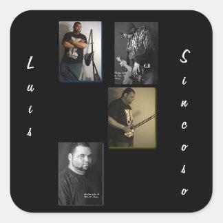 Luis Sincoso Square Sticker