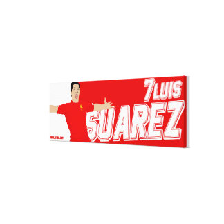 Luis Suarez canvas print