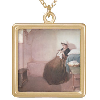 Luisa Sanfelice in Prison Gold Plated Necklace