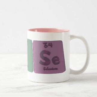 Luise  as Lutetium Iodine Selenium Two-Tone Coffee Mug