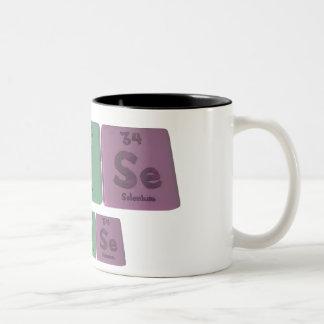Luise as Lutetium Iodine Slenium Two-Tone Coffee Mug
