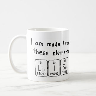Luise periodic table name mug