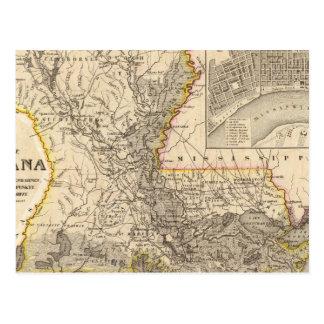 Luisiana 5 tarjeta postal