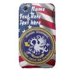 Luisiana bicentenaria 30 colores ve notas Case-Mate iPhone 3 cobertura