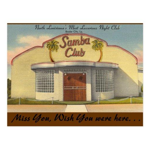 Luisiana, club de la samba, una ciudad mas mandona tarjetas postales