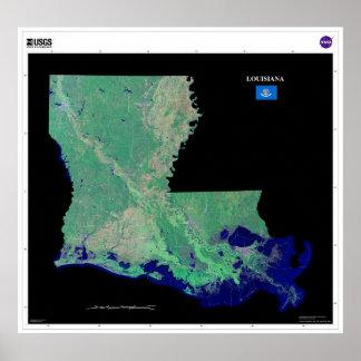 Luisiana del poster del espacio