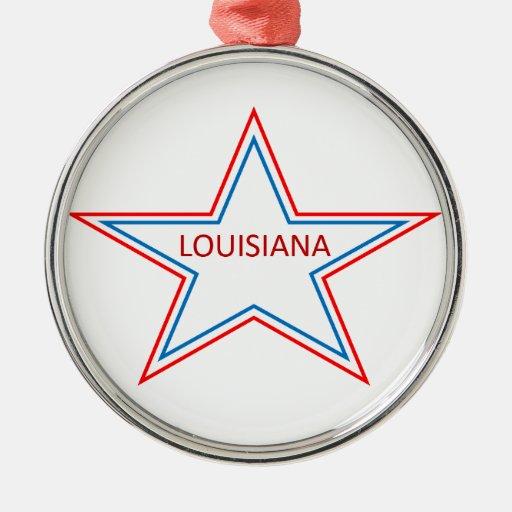 Luisiana en una estrella ornatos