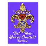 Luisiana Inivitations sobre 50 colores Invitacion Personalizada