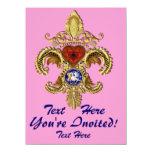 Luisiana Inivitations sobre 50 colores Invitación Personalizada