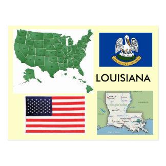 Luisiana los E E U U Tarjetas Postales