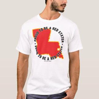 Luisiana: ¡Orgulloso ser una camiseta roja de