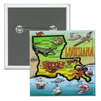 Luisiana Pin Cuadrada 5 Cm