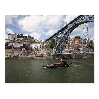 """""""Luiz I"""" Bridge, Oporto Postcard"""